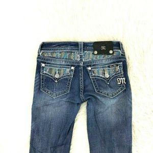 Miss Me Women Jeans Boot Sz 26 X 33 Inseam 7-4